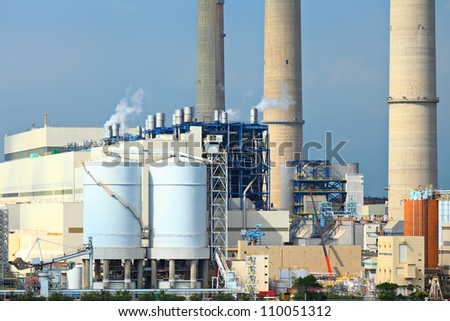 electric power plant
