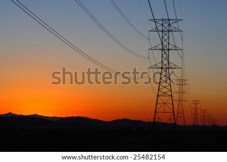 Electric power transmission tower