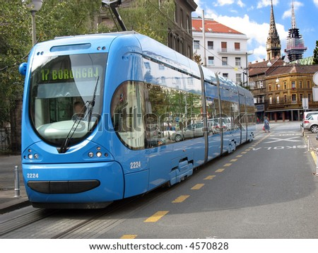 Electric trains in Zagreb
