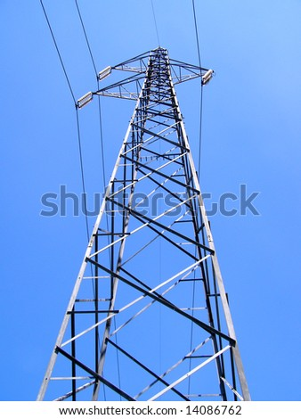 Electric transmission line tower