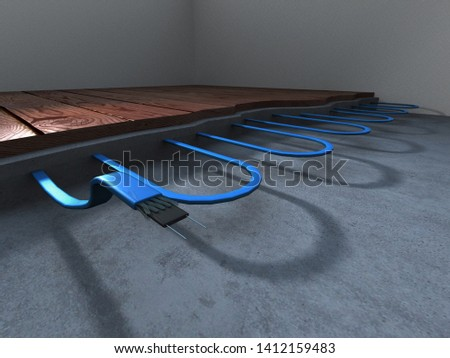 Electric tropical insulation line effect diagram #1412159483