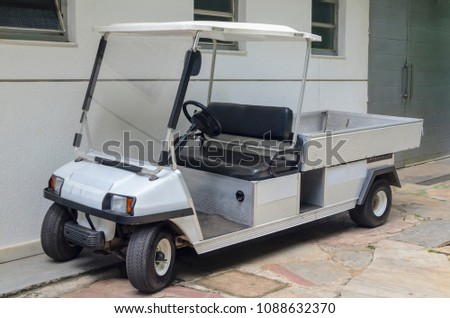 electric vehicles for sporting purposes, personal transportation, cargo and utilities popularly known as golf cart #1088632370