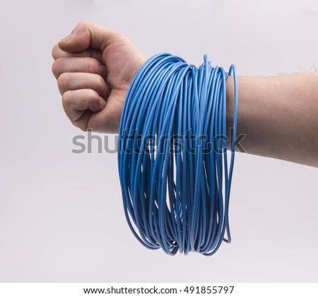 electric wire hank Сток-фото ©