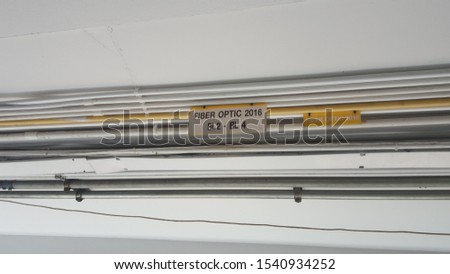 Electric wires, telephone cables, ceiling cables #1540934252