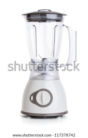 Electrical Blender, Kitchen Equipment, Isolated On White