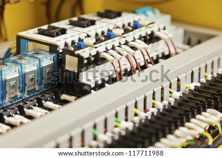 Electrical components, switches and wiring