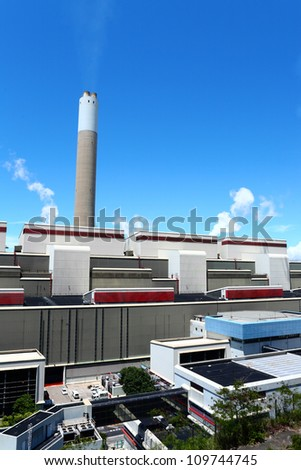 electrical generating power plant