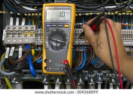 Electrical measurement.