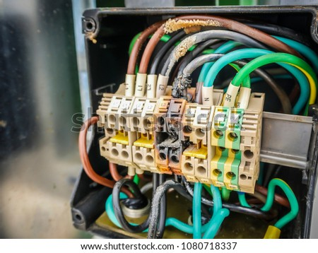 Electrical terminal box Images and Stock Photos - Page: 7