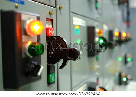 Electrical power control station, Electricity