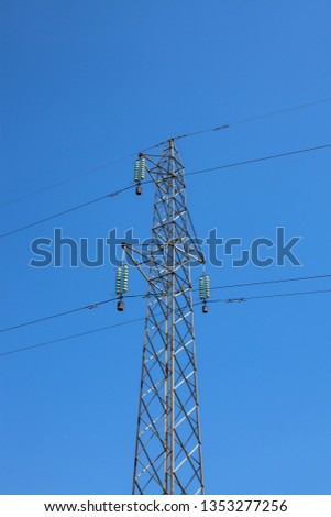 Electrical power line #1353277256