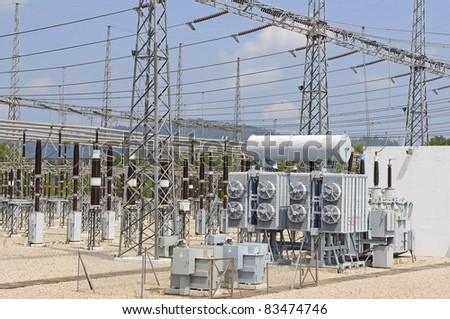 electrical power substation