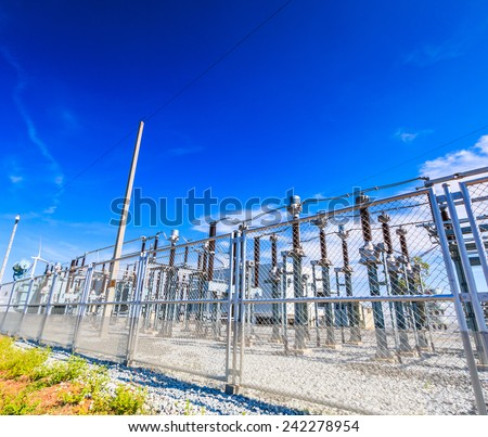 Electrical substation, Power Station