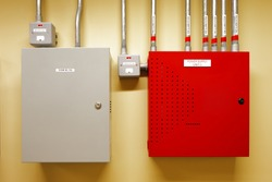 Electrical switch gear and circuit breakers are usually securely locked in the control rooms of new commercial buildings