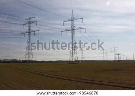 electrical tower pylon #98546870