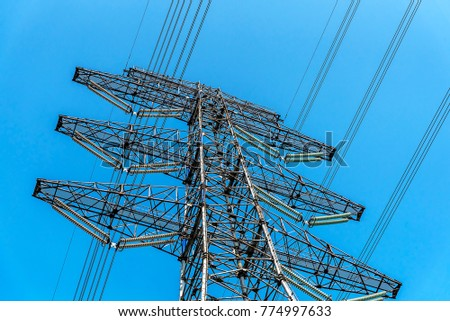 electrical transmission tower #774997633