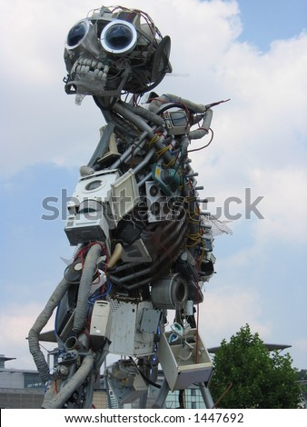 Electrical Waste Sculpture