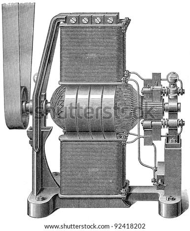 electricity machine  dynamo...
