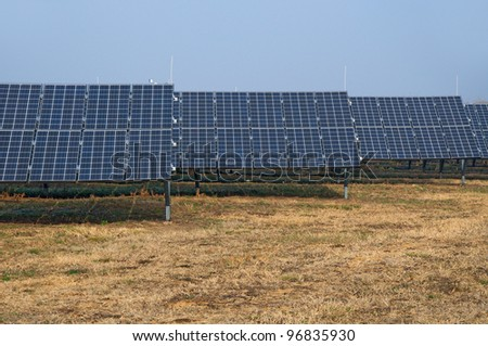 Electricity plant, solar power energy