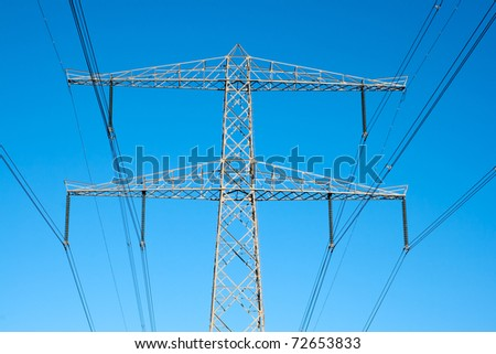 Electricity poles - Hi voltage