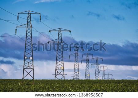 Electricity Pylons Graduated #1368956507