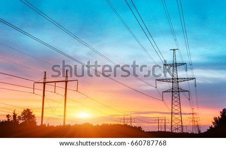 Electricity Tower #660787768