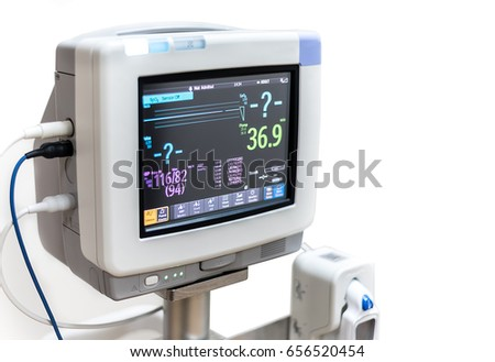 Electrocardiographic Monitoring (ECG) Medical Device #656520454