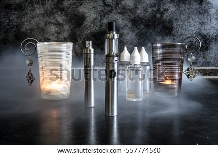 Electronic cigarette and liquid #557774560