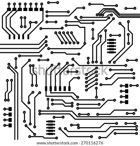 Circuit Board Background Texture Stock Photo 219112768