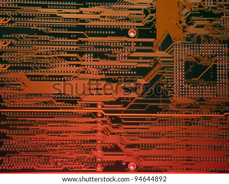 electronic circuit board/Electronic background texture