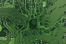 Electronic circuit plate background