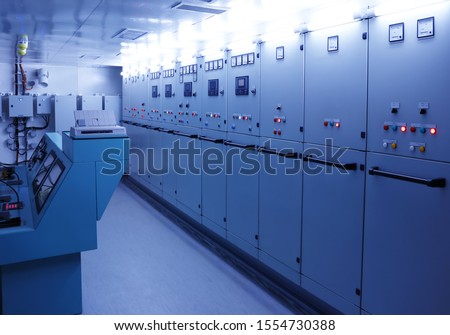 electronic control panel, ship engine control panel #1554730388