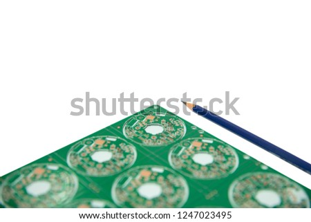 Electronic Design concept, design of electronic circuit and electronic board #1247023495