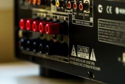 Electronic input jack connect backside