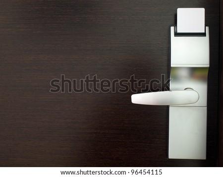 Electronic Locks Electronic Lock on Door With
