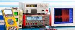 electronic measuring instruments in lab