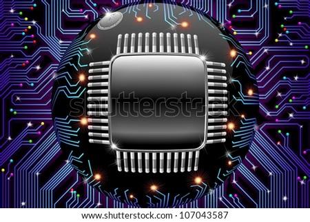 Electronic Motherboard Circuit