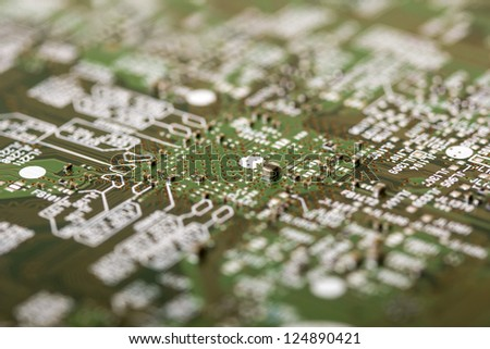 Electronic system board
