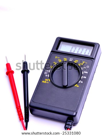 electronic tester - stock photo