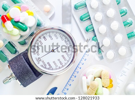 electronic thermometer, treatment of fever pills