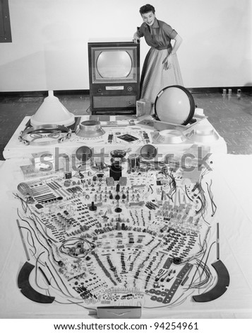 ELECTRONICS - stock photo