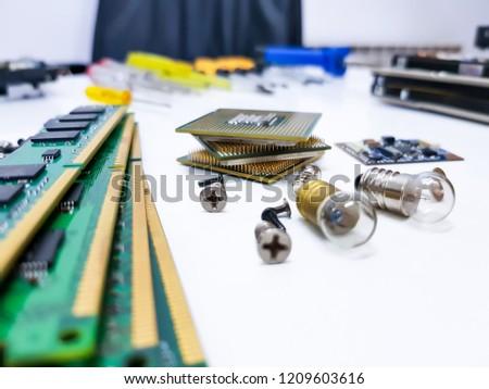Electronics parts pc #1209603616