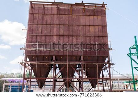 Electrostatic Precipitator during construction #771823306