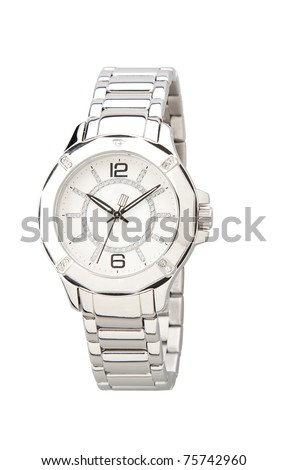 Elegance and beautiful wristwatch