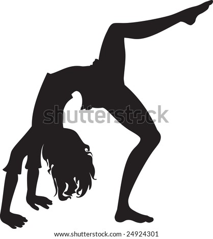 stock photo elegance design isolate silhouette gymnastic teen girl 24924301 Teen woman in black elegant dress pointing on something isolated on white ...