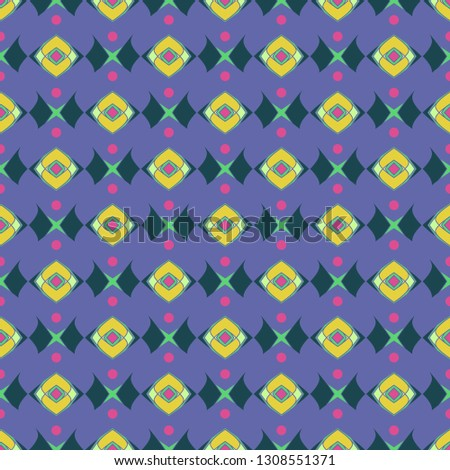 Elegant abstract background multicolor geometric pattern seamless.