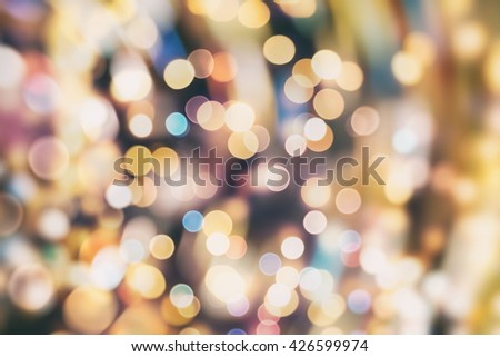 elegant abstract background with bokeh lights and stars Texture #426599974