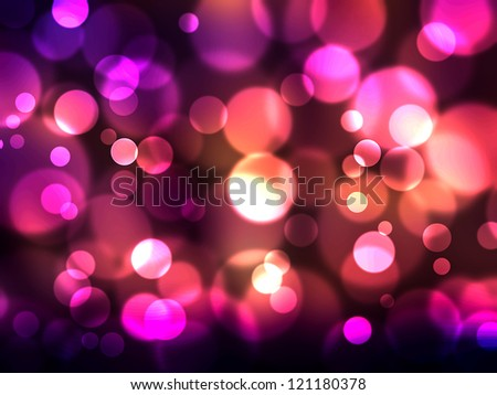 Elegant abstract background with defocused lights - stock photo