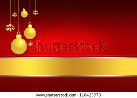 Elegant and Light Merry Christmas background