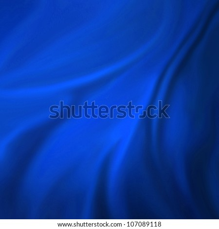 elegant blue background abstract cloth or liquid wave illustration of wavy folds of silk texture satin or velvet material or blue luxurious background wallpaper design of elegant curves blue material